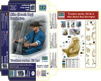 Master Box — Truckers series Mike — Plastic model kit 1:24 Scale #24044