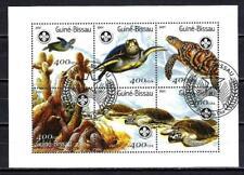 Guinée Bissau 2001 Tortues (271) Yvert n° 837 à 842 oblitéré used
