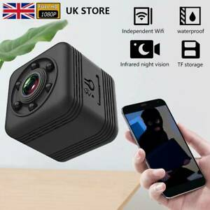 Mini HD Wireless Wifi Camera IP CCTV Night Vision In/Outdoor Home Security