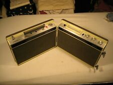 Toyo Crh402 Stereo 8-track/Am/Fm Ac/Dc powered portable, fully functional