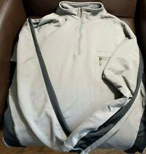 Slazenger Gray and Black Golf Pullover