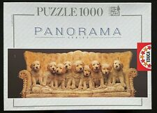 Educa In Good Company jigsaw puzzle puppies dogs 1000 piece panorama Complete