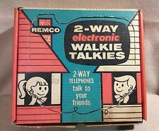 Remco 2 Way Electronic Telephones by Remco Toys 1963