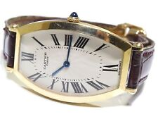 Cartier Paris Made In France 18k Yellow Gold 2458B Vintage Gold Watch