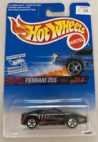1997 Hotwheels Ferrari F355 355 Berlinetta Black! Mint! MOC!