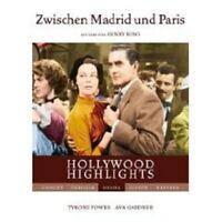 ZWISCHEN MADRID UND PARIS DVD DRAMA MIT AVA GARDNER NEU