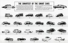 Old Print.  DeSoto Automobiles 1930 - 1955