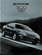 2000 Chrysler 300M Dealer Sales Brochure