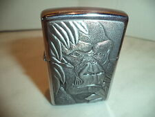 Zippo  LIGHTER ANIMALI PLACCA  B90 GORILLA  RARE NEW nuovo