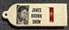 Rare Original 1959 James Brown Concert Whistle - Wpix Dance Party Tv Show