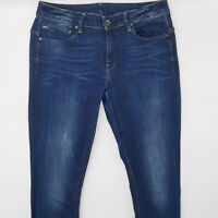 G-Star Midge Zip Skinny WMN D05261 W32 L32 blau Damen Designer Denim Jeans Hose