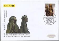 BRD 2015: economiche-Cinghia Schneider-scultura post-FDC nr 3180 timbro di Berlino nel 1605