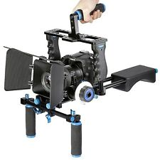 Shoulder Mount Rig Dslr Video Support Camera Cage Movie Pad Stabilizer System