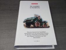 """Wiking Set 9902458 """" 50 Jahre Unimog 4 verschiedene Modelle mit OVP/Box 1:87"""