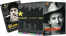 Mistrzowie Polskiego Kina - Zestaw 21 DVD +book  (Shipping Wordwide) Polish film