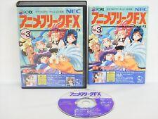 ANIME FREAK FX Vol 3 PC-FX NEC Import JAPAN Video Game pf