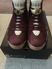 Nike Air Jordan 7 VII Championship Celebration C&C Cigar shoes sz 8.5 W/ Receipt