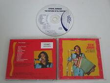 STEVE JORDAN/THE RETURN OF EL PARCHE(ZENSOR-PLÄNE 48056) CD ALBUM
