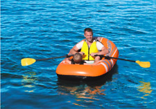 New listing Bestway 61062E 77x45 Inches Kondor 2000 Inflatable Raft Set with Oars and Pump