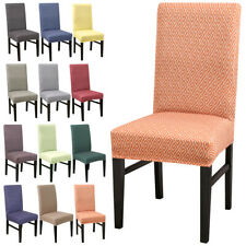 Soft Chair Covers Spandex Dining Chair Cover Removable Kitchen Stretch Banquet