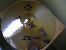 "18"" Avedis Zildjian A Custom Crash Cymbal NEVER USED 1285g"