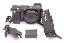 Sony Alpha a6000 24.3MP Appareil Photo Numérique - Noir (Boitier Uniquement)