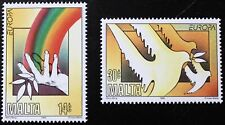 Europa, Peace & freedom stamps, 1995, Malta, SG ref: 987 & 988, MNH