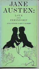 Love & Freindship and other early works by Jane Austen 1979 illustrated
