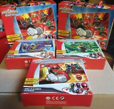 Power Ranger Megaforce Puzzle Set. All Sealed BNIB. x5