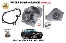 FOR FORD MAVERICK 2.4 NISSAN PICK UPS TERRANO VANETTE LARGO WATER PUMP + GASKET