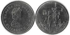 1984 Canada Dollar 1$ Coin Jacques Cartier