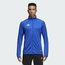 Adidas Men's Tiro 17 Training Jacket Bold Blue/Black/White BQ8201