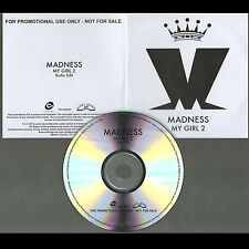 MADNESS - MY GIRL 2 - CD SINGLE (PROMO) - SUGGS - TWO 2 TONE