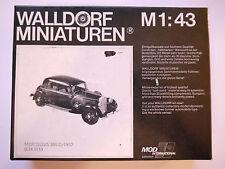 Mercedes 260 D 1937-1942, Weißmetall-Bausatz wm-kit, Walldorf in 1:43 boxed 2.W!