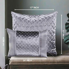 Luxury Crushed Velvet Small Large Filled Cushions Large Bedroom Sofa Cushion