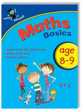 Maths Basics 8-9 by Bonnier Books Ltd (Paperback, 2009) Education Book (B091)