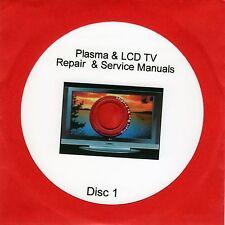 Repair Manuals for 900 LCD & Plasma TVs plus unusual self employment idea