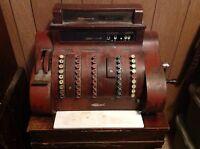 Antique National Cash Register 1924 Model #852 Rare Original! Great Condition!