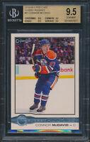 2015-16 O-Pee-Chee OPC Glossy #R1 Connor McDavid Rookie Card Graded BGS All 9.5