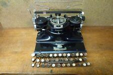 Machine à écrire ancienne, HAMMOND multiplex