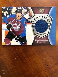 17-18 UD Series 2 Hockey UD Game Jersey GJ-GL Gabriel Landeskog