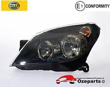 Genuine HELLA Holden Astra AH 04~10 LH Left Hand Head Light Lamp (Black)