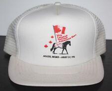 Vintage  APPALOOSA HORSE SHOW TRUCKER HAT Ancaster Canada 1996 Canadian Ontario