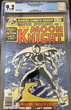 CGC 9.2 OW/W Pages Marvel Spotlight # 28  June 1976  1st Solo Moon Knight Story.