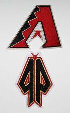 (1) LOT OF (2) MLB BASEBALL ARIZONA DIAMONDBACKS PATCH PATCHES TYPE (C)  # 53