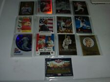 Lot of 13 Different Topps Baseball Insert Sets Complete Various Years