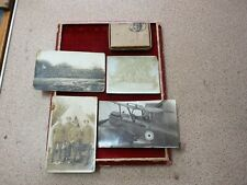 WW1 Royal Flying Corps photos & WW2 medal box.Mr Cooper from Leigh on sea Essex