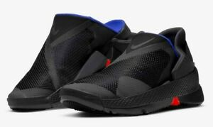"""Nike GO FLYEASE """"BLACK/ANTHRACITE-RACER BLUE"""" CW5883-002 authentic US5-10.5"""
