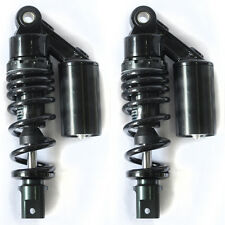 """New Black 1 Pair 9.25"""" 235mm Air Clevis Shock Absorbers For Motorcycle Scooters"""