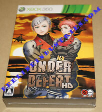 Under Defeat HD Limited Edition Microsoft Xbox 360 Japan Brand New